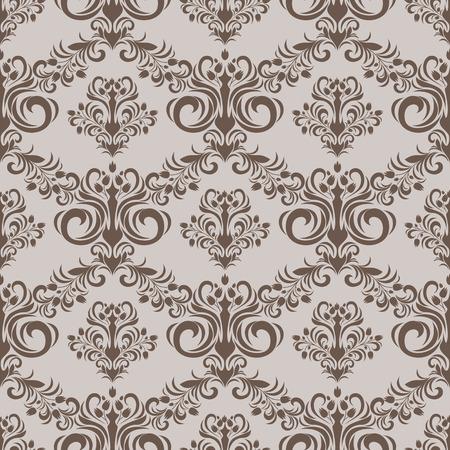 Seamless floral damask Pattern for Design