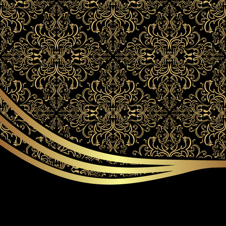 Luxury ornamental Background decorated the elegant Border