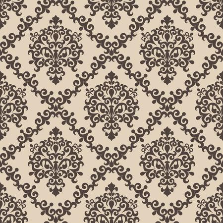 Seamless damask Pattern for Design
