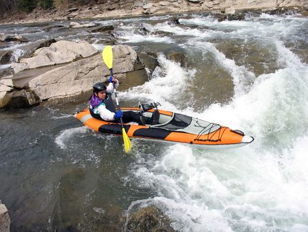 rafter: white water rafter