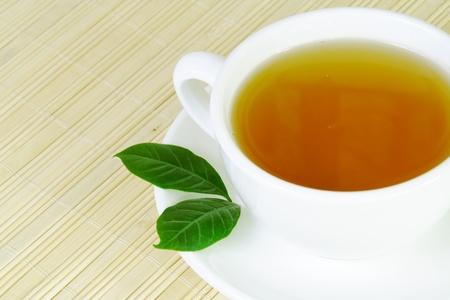 Beker van gezonde thee Stockfoto