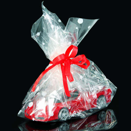 prestige: Prestige Car Gift in Holiday Package with Red Ribbon