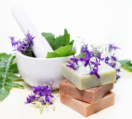 Landelijk bloemen en kruiden in de Mortel Spa Samenstelling