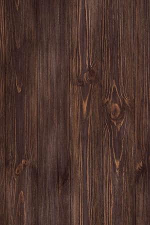 Beautiful wood texture dark background. Dark wood texture. View from above. Vertical. 写真素材
