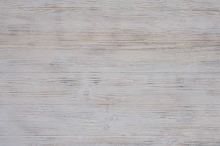 White textured wood background. View from above