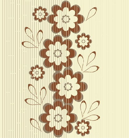 tiling: flower seamless background design