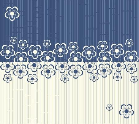 bloem naadloze achtergrond ontwerp