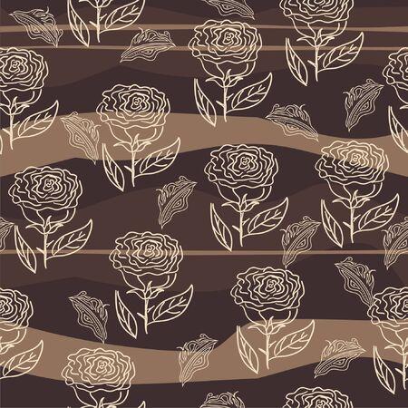 seamless flower background  Stock Vector - 10960336