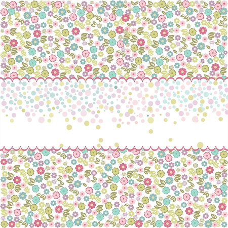 vintage floral seamless pattern  Stock Vector - 11074650