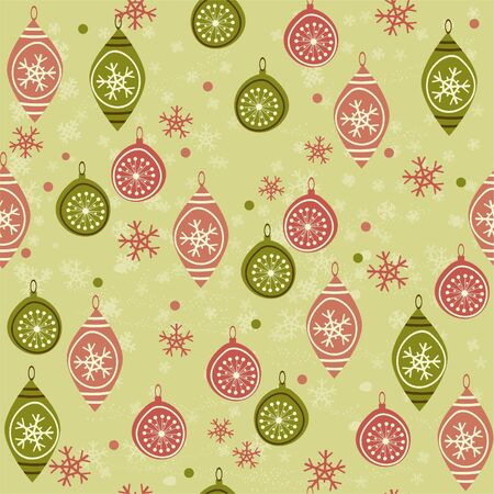 seamless Christmas background  Stock Vector - 11074653