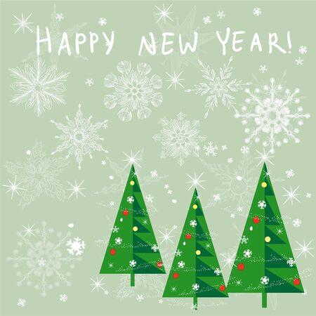 Christmas Card Stock Vector - 11074681