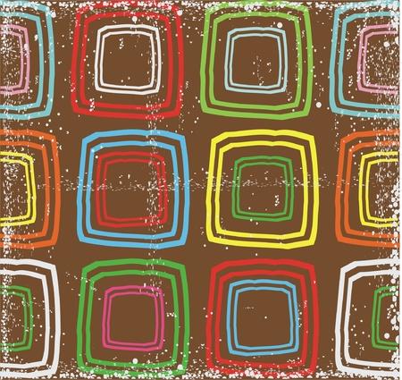 retro seamless pattern  Ilustracja