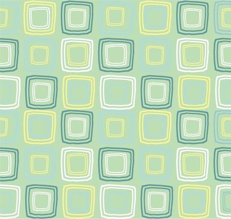 quadratic: seamless retro Vectores