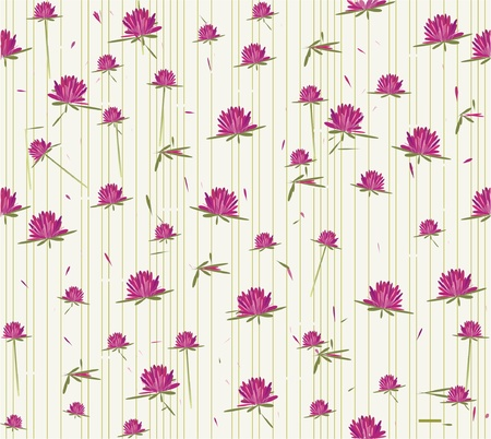 seamless vector wild flowers Stock Vector - 11285510
