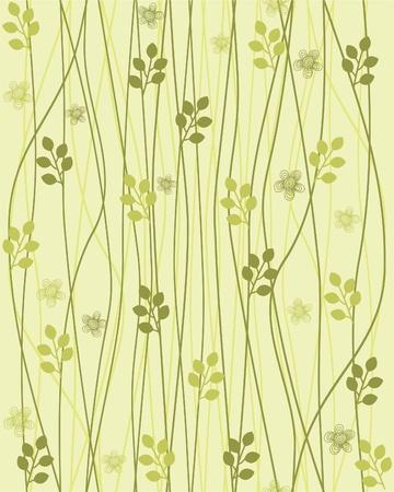 seamless floral background  Ilustracja
