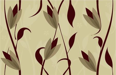 floral seamless background design