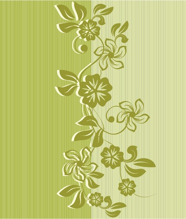 flower seamless background design  Stock Vector - 12054009