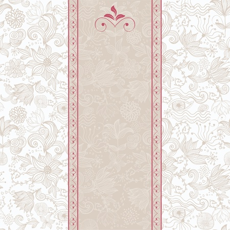 seamless floral background  Stock Vector - 12308505