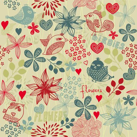 Floral seamless pattern  Stock Vector - 12308500