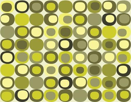 Retro seamless square pattern Vector