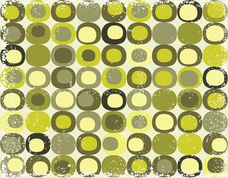 Grunge Retro nahtlose quadratischen Muster
