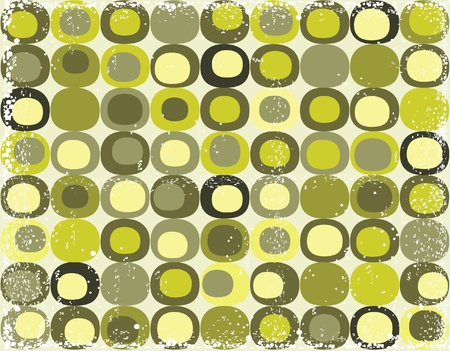 tile pattern: grunge retro seamless square pattern