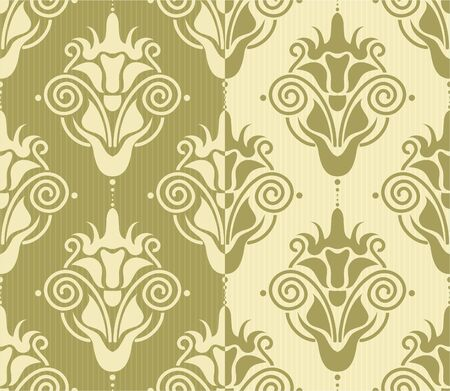 seamless damask background Stock Vector - 12308566
