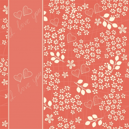 flower seamless background design  Stock Vector - 12308600
