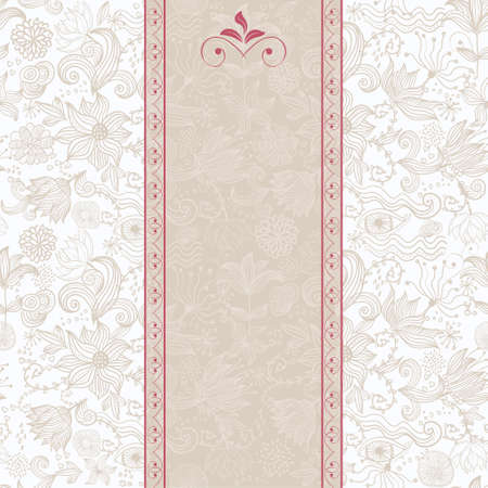 seamless floral background Stock Vector - 12900454