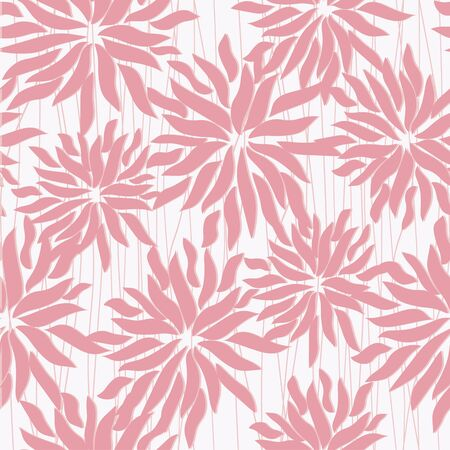 seamless chrysanthemum  Vector