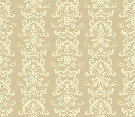 seamless damask wallpaper Stock Vector - 13481898