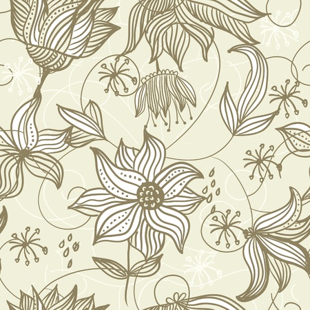 floral seamless pattern Stock Vector - 13481886