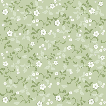 seamless floral background Stock Vector - 13481945