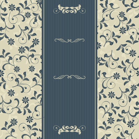 floral card Illustration