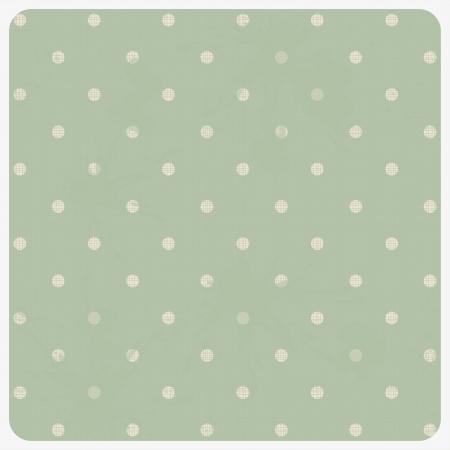 abstract geometric retro seamless polka dot background Illustration