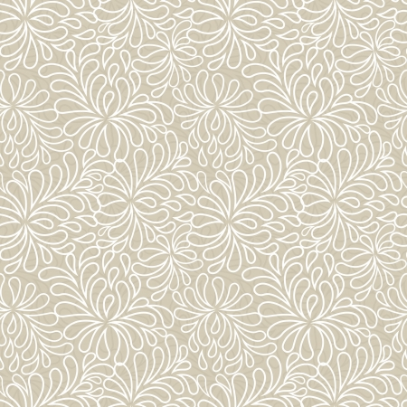 Chrysanthemum: seamless abstract floral pattern