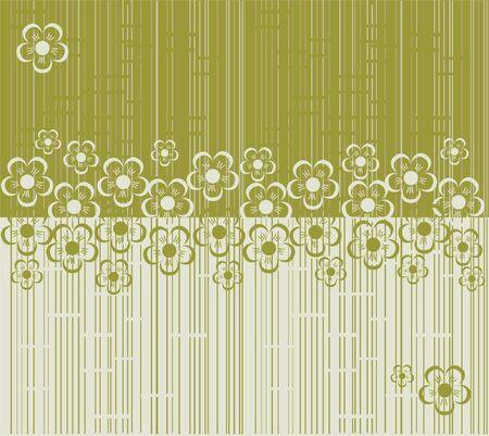flower seamless background design Stock Vector - 17773544