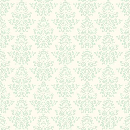 Baroque Seamless Pattern Stock Vector - 19116840