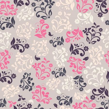 modern: seamless floral pattern
