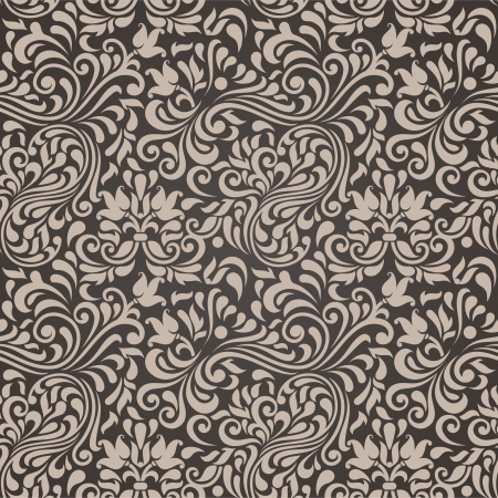 Seamless background in the style of Damascus