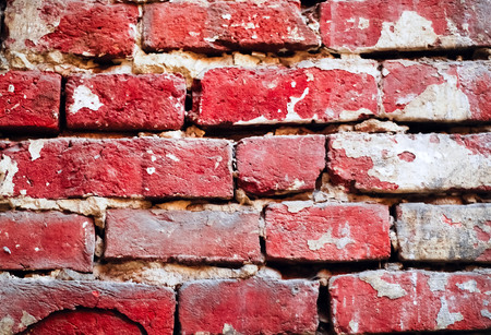 brick background of natural stone, concept of building materials, close-up, copy space,