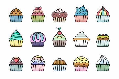 glaze: Cupcakes Icons