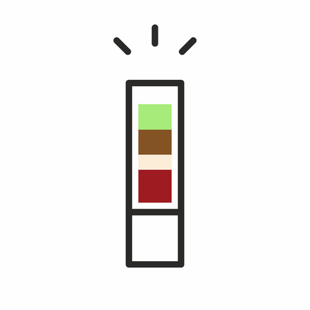 Cocktail shot icon Illustration