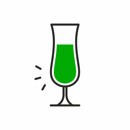 Cocktail icon Stock Vector - 83428842