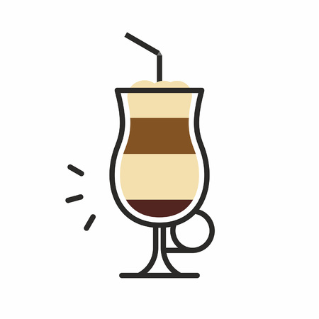 Cocktail icon Stock Vector - 83428891