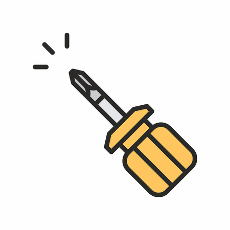 Screwdriver icon Иллюстрация