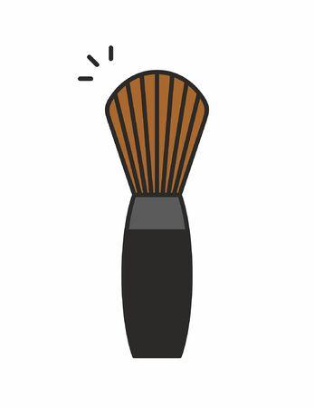 Makeup Brush icon Illustration