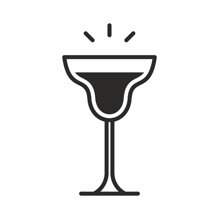 Cocktail icon Stock Vector - 84002167