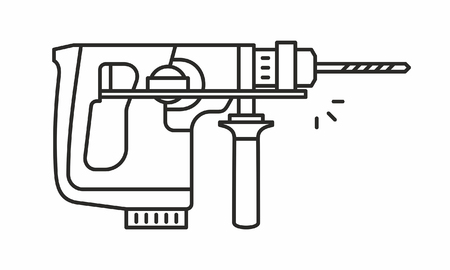 Puncher vector icon