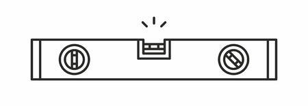Bubble-Level-Symbol Vektorgrafik